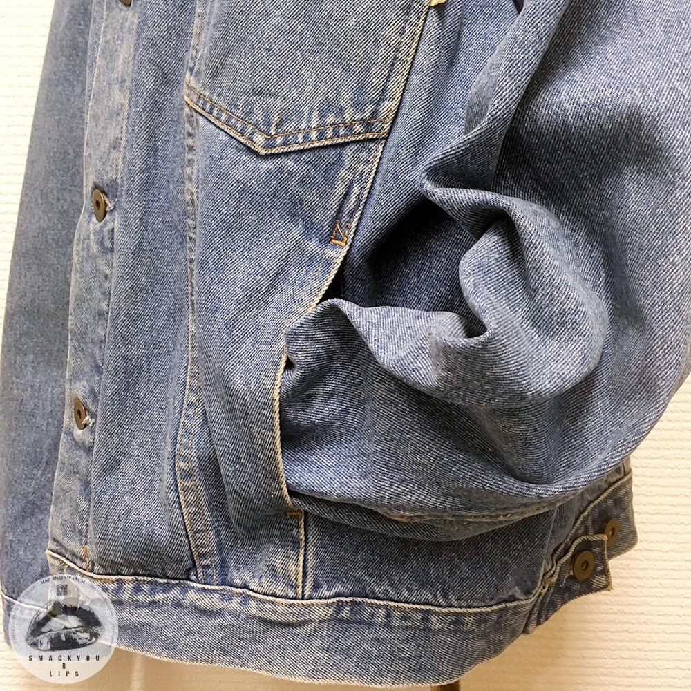 Denim Vest with Sleeves