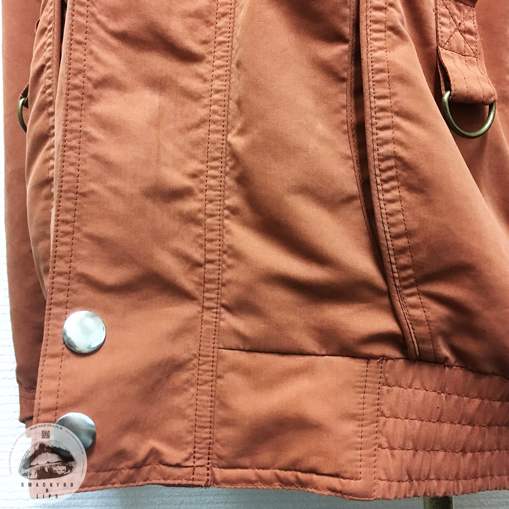 Terracotta Short Jacket
