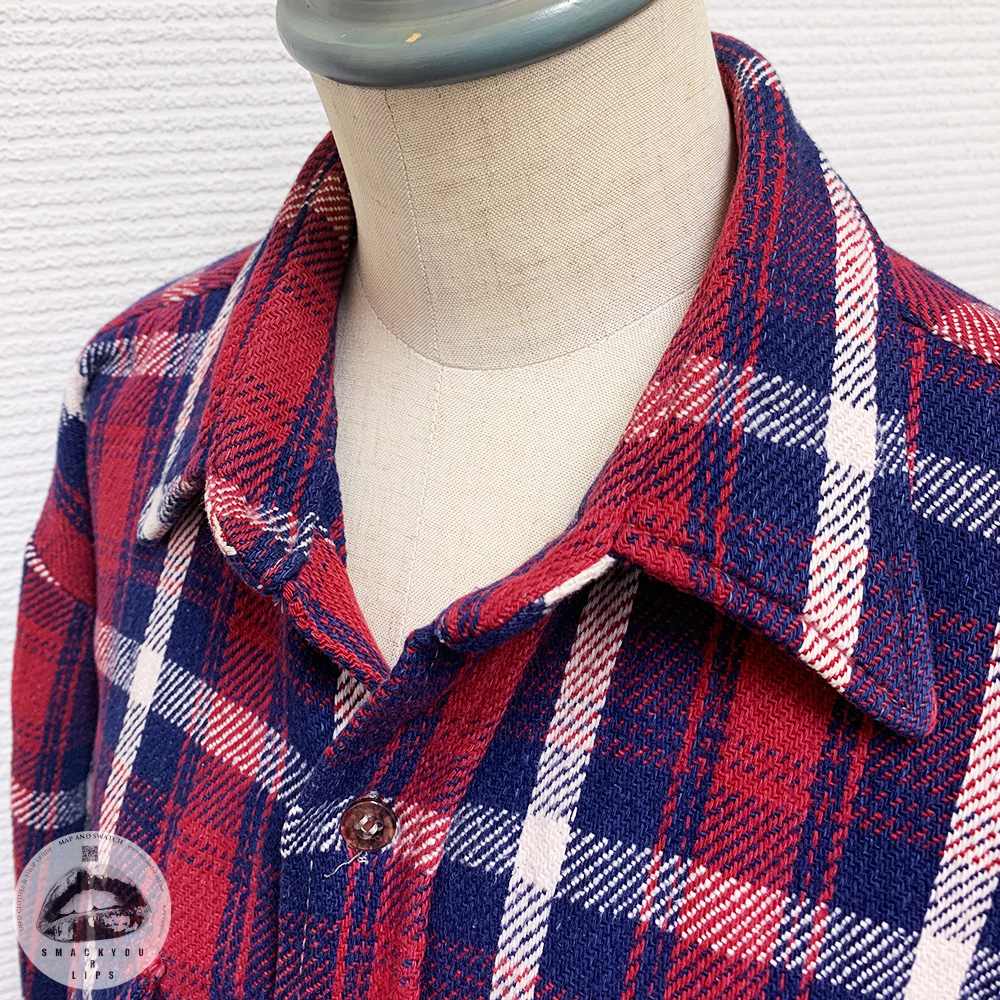 Heavy Flannel Plaid Shirt