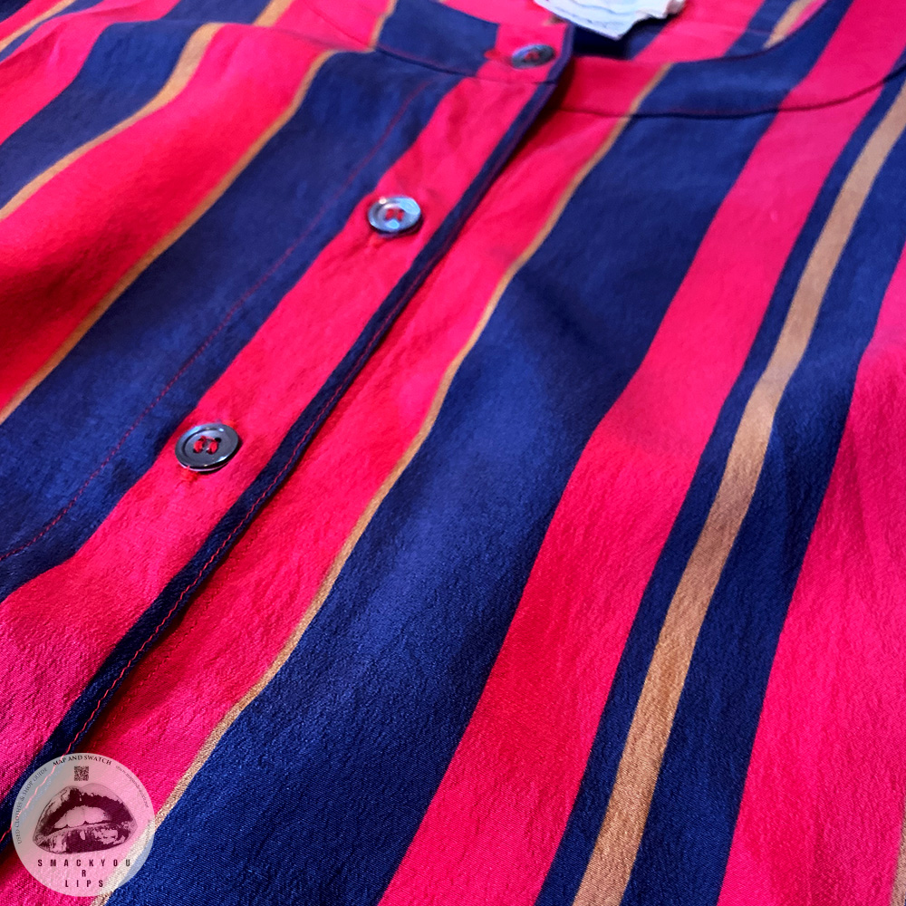 British Stripe Silk Shirts