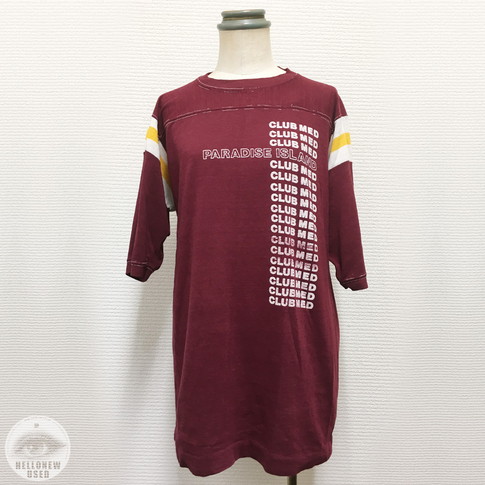 Football Tee (Frayed Stitching)