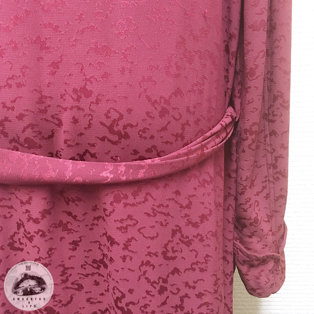 Faded Pink Silk Robe