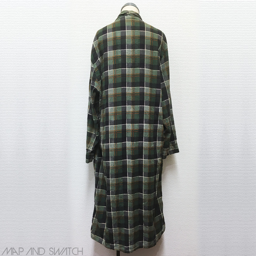 Check Printed Flannel Robe
