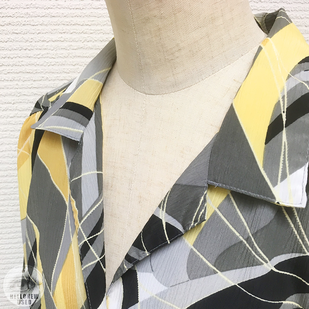 "Short Sleeve Shirts ""Geometric and Vitamin"""