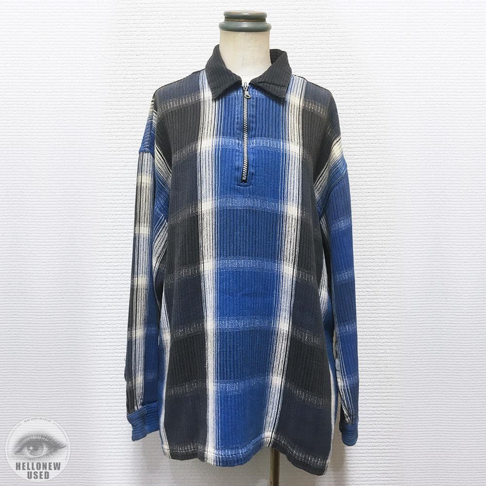 Plaid Shirts With Zipper