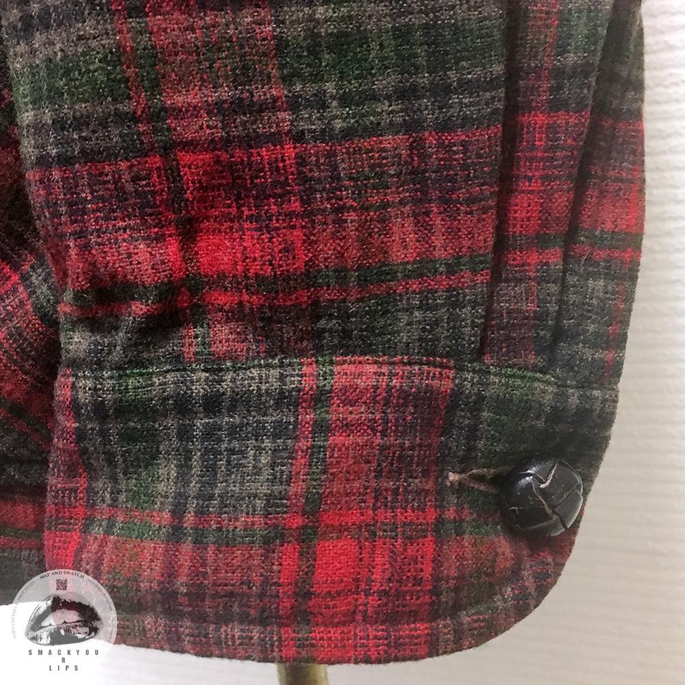 Red Plaid Shirt Jacket