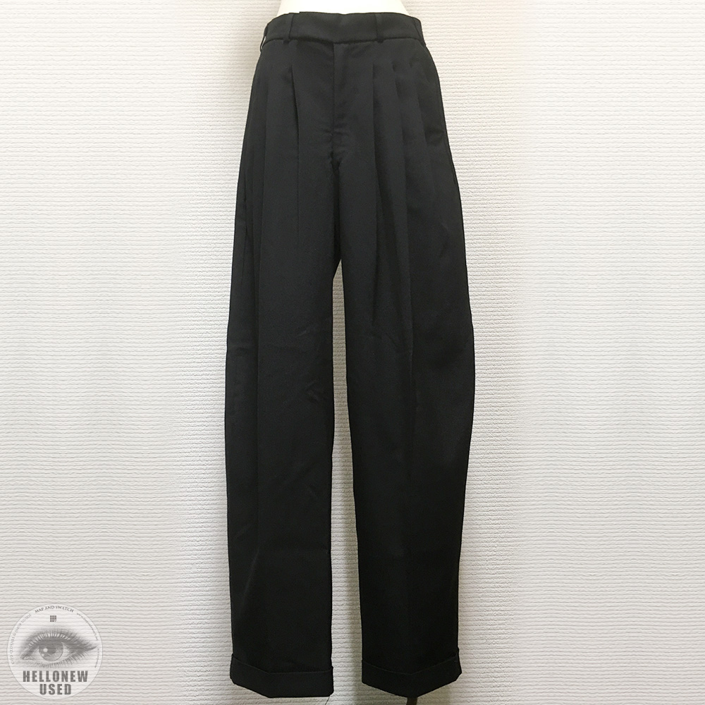 Tuck Wide Slacks