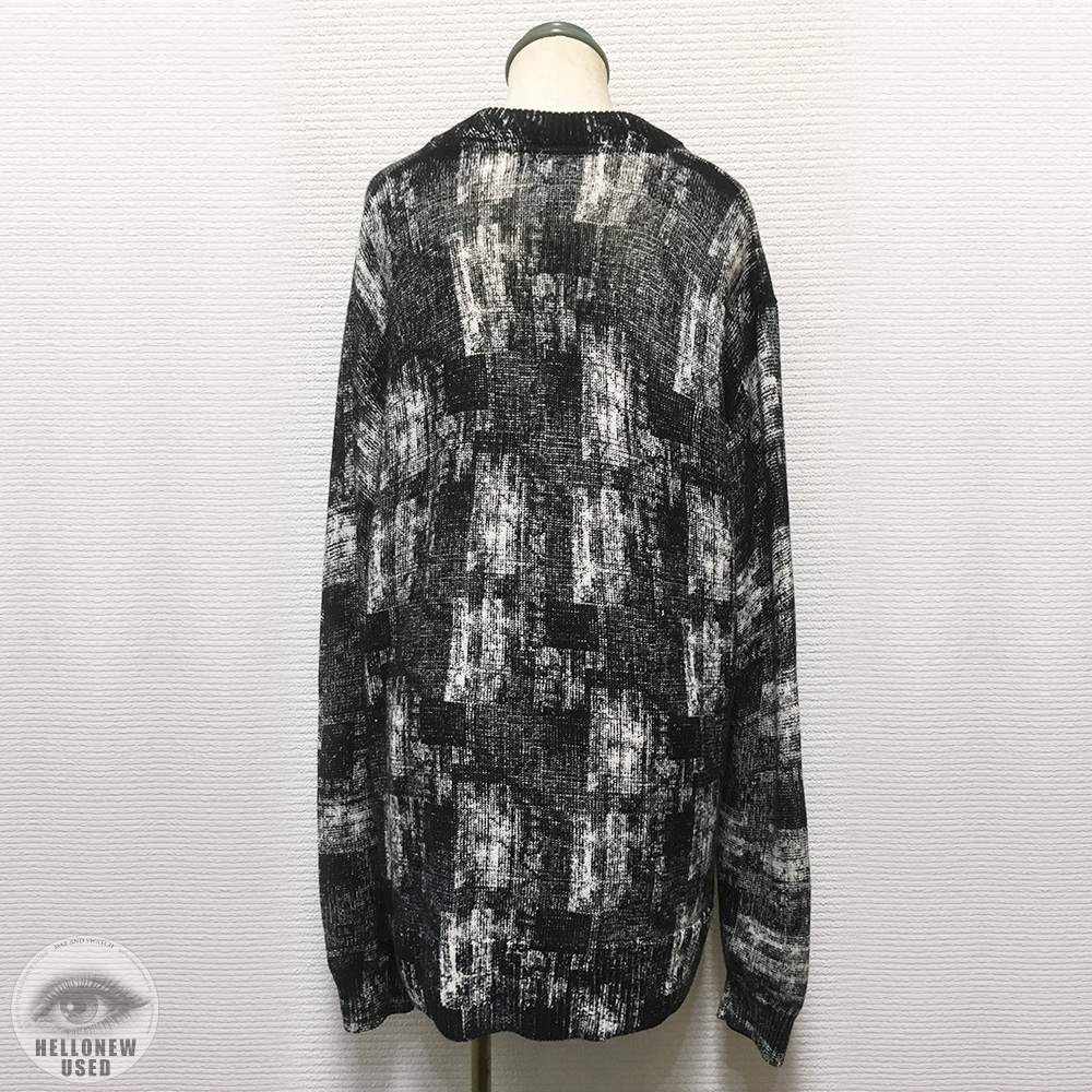 Abstract Print Knit