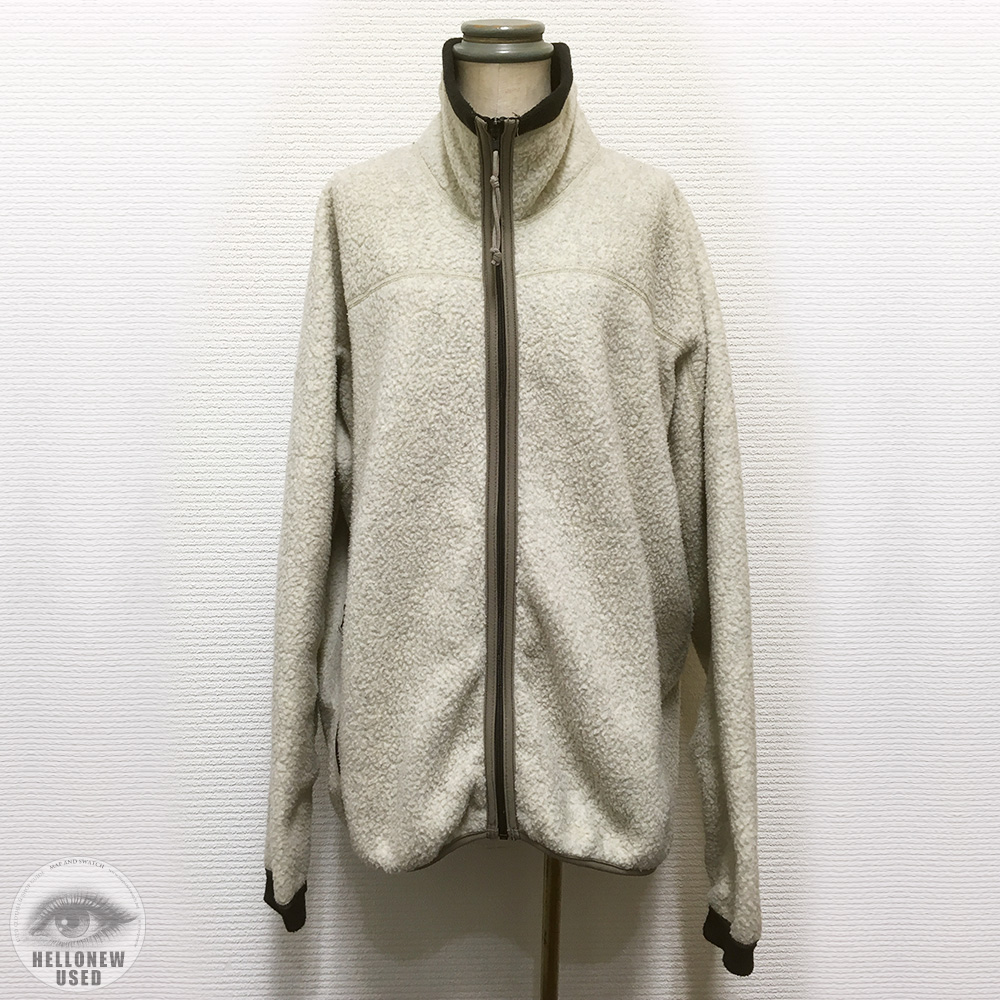 "White Fleece Jacket ""REI"""