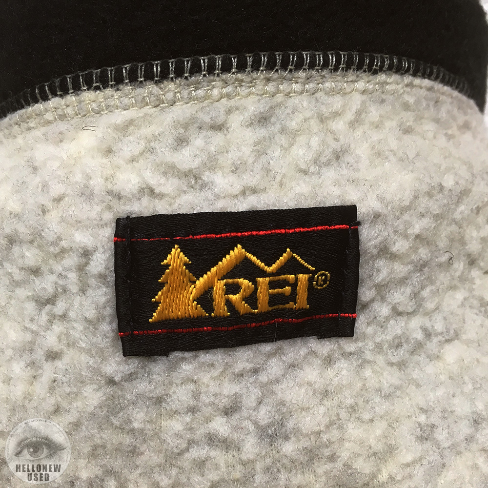 """White Fleece Jacket """"REI"""""""