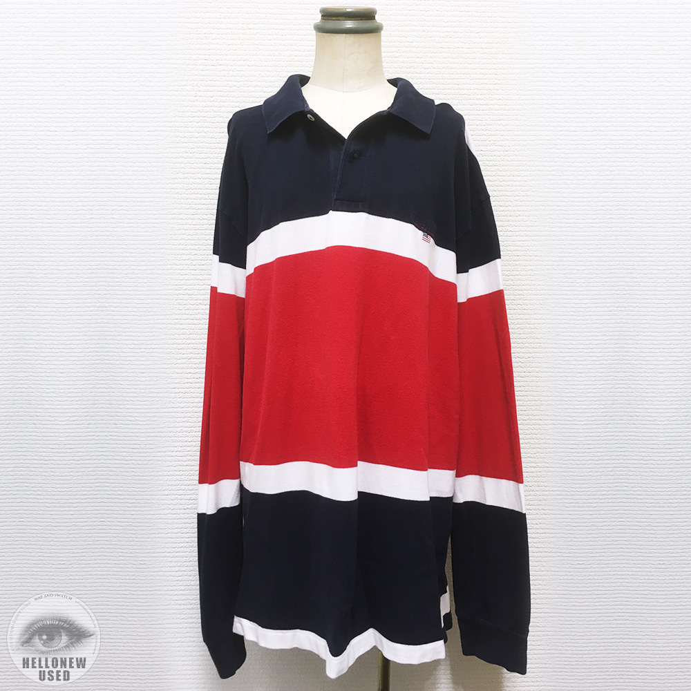 Tricolore Big Polo Shirt