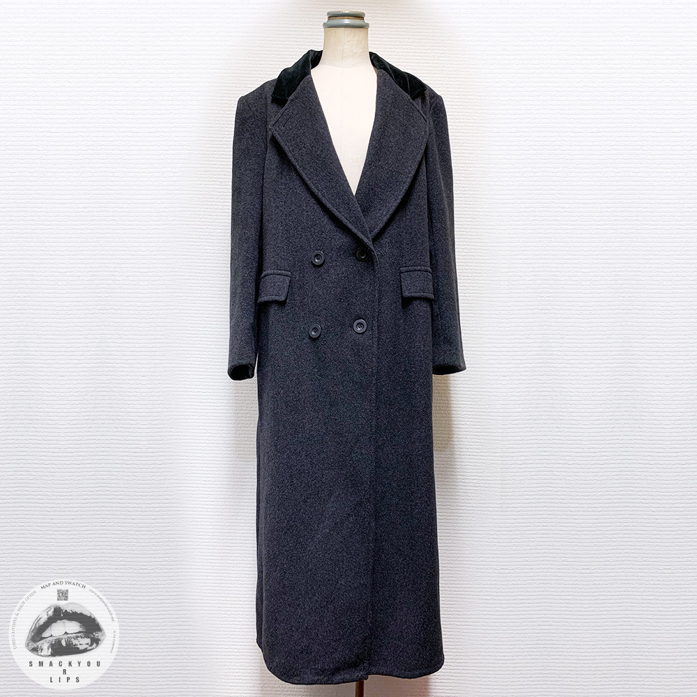 Maxi Length Wool Coat