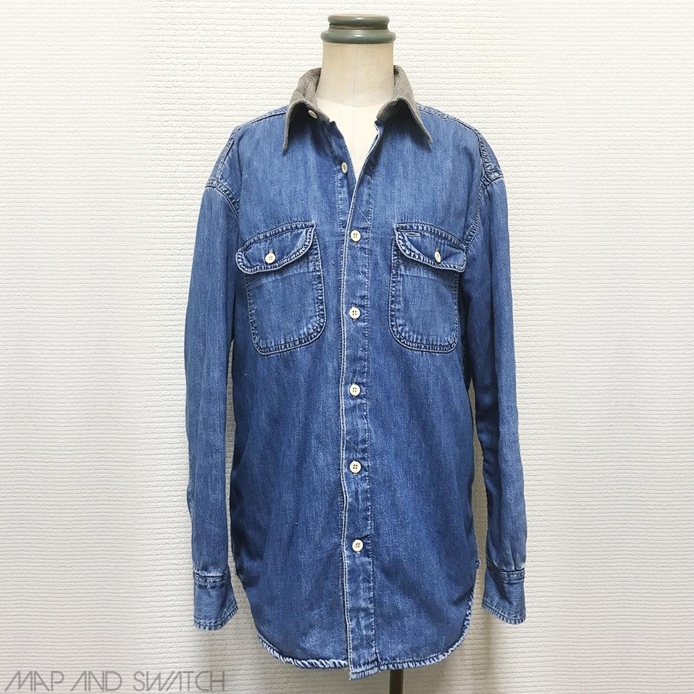 Irregular Denim Shirt (Maybe Levi's)