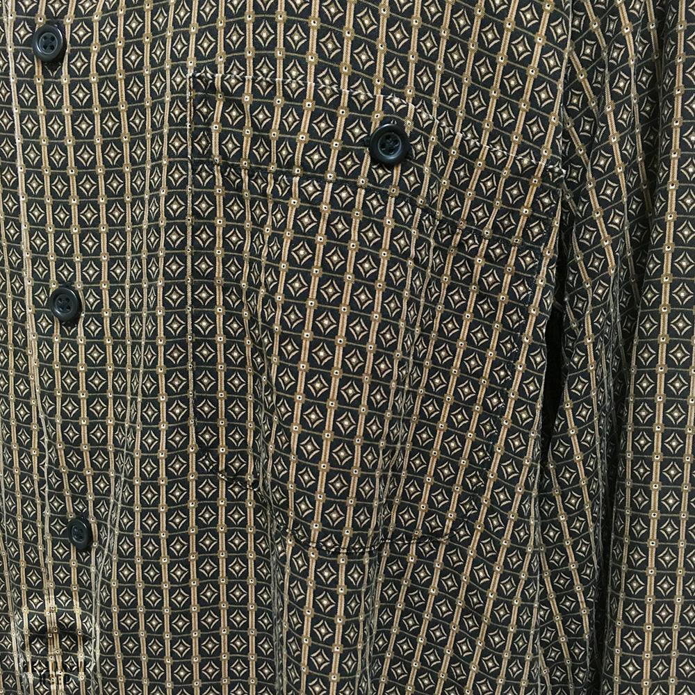 Dia Pattern Rayon Shirt