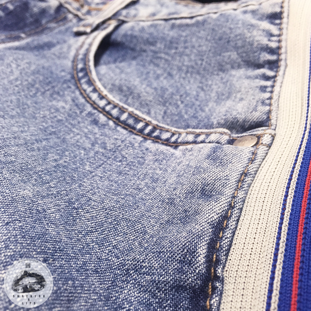 "Side Line Denim ""silverTab"""