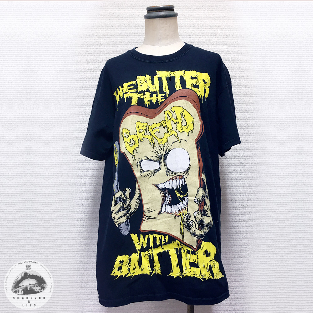 "T-shirt ""We Butter the Bread with Butter"""