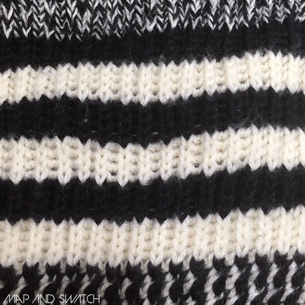 Monotone Low gauge Knit