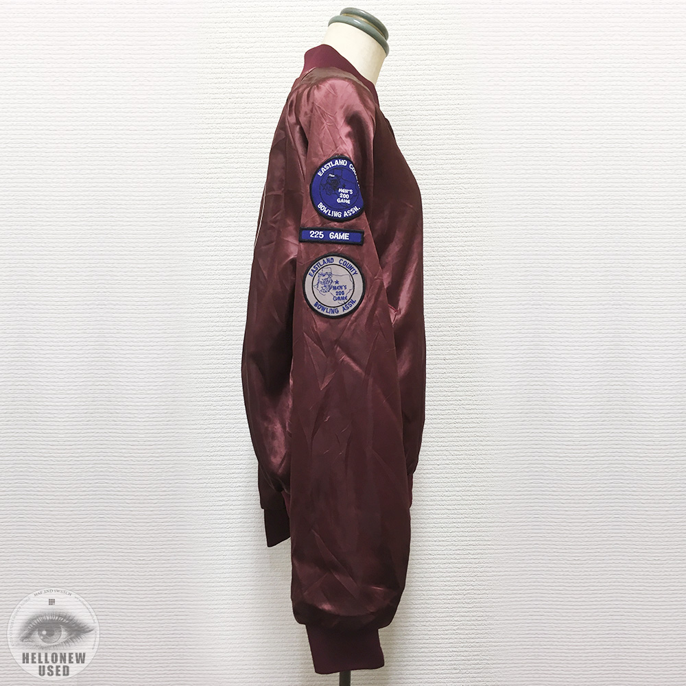 Patched Award Jacket