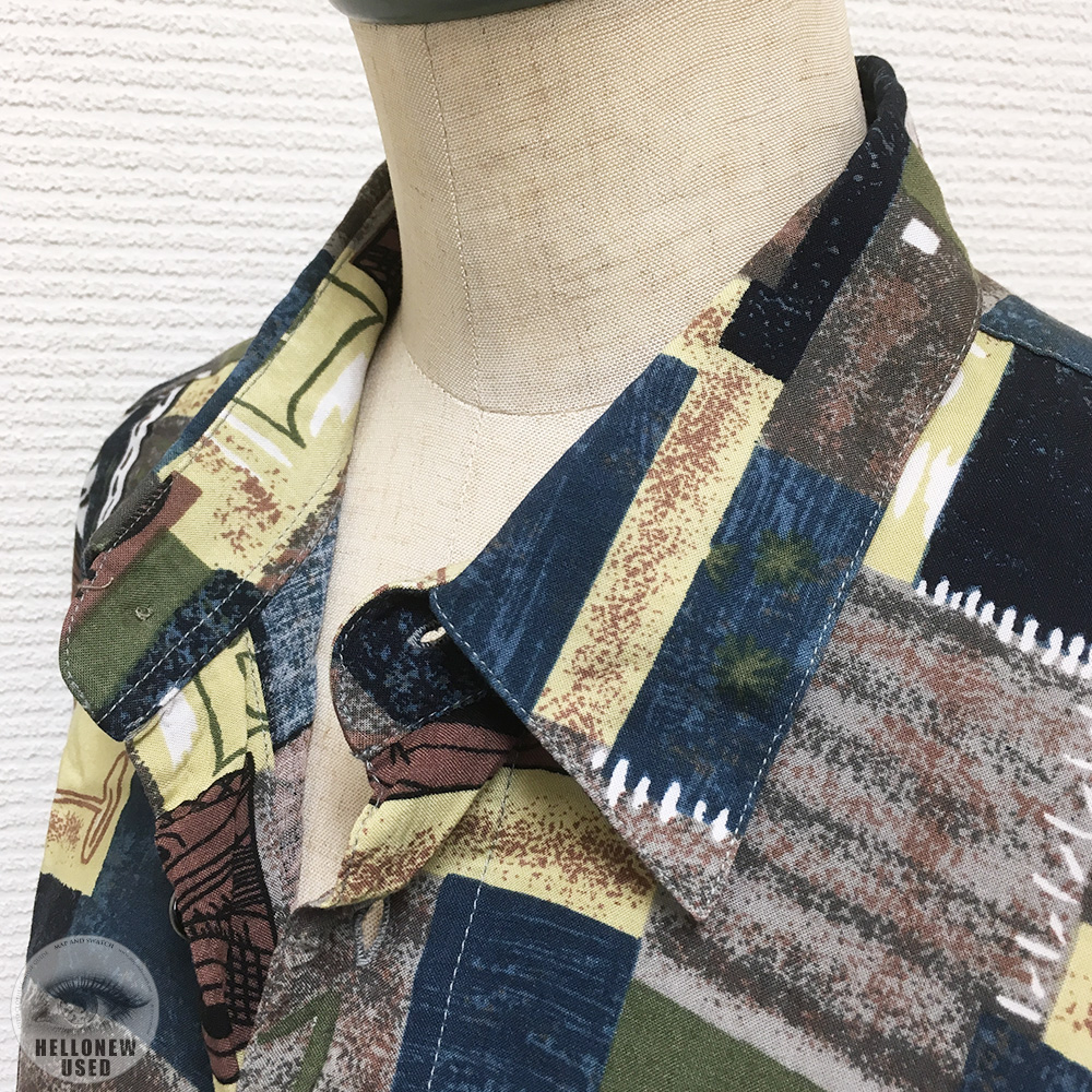 Patching Print Shirts