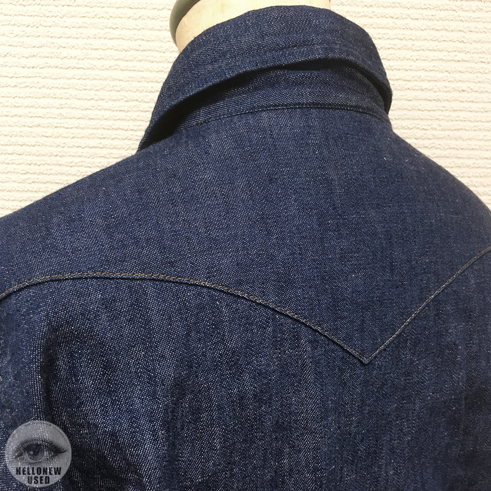 Dark Indigo Denim Shirts