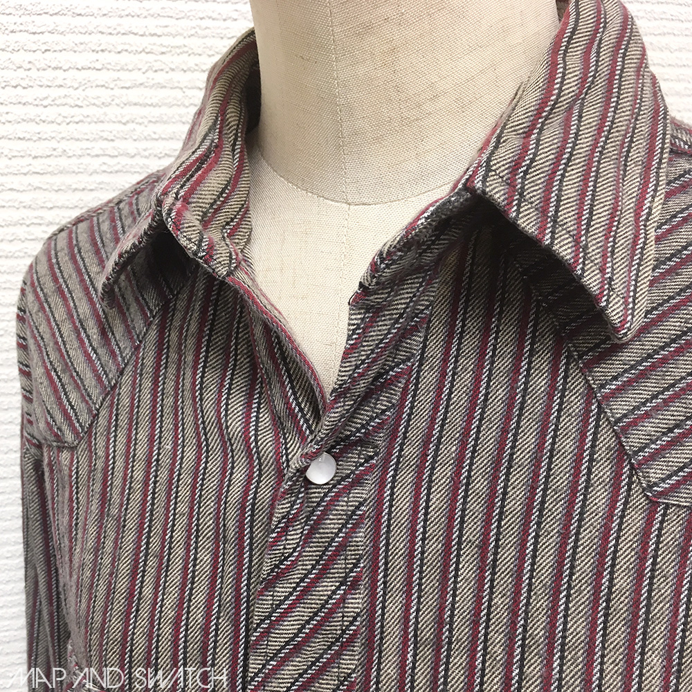 Stripe Western Shirt