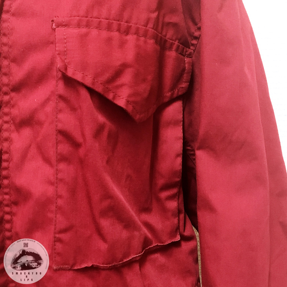Red M-65 Jacket