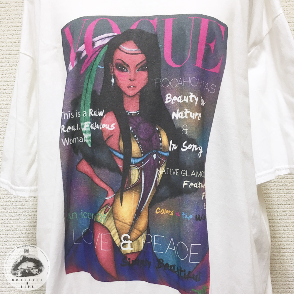 "Printed T-Shirt ""VOGUE?"""