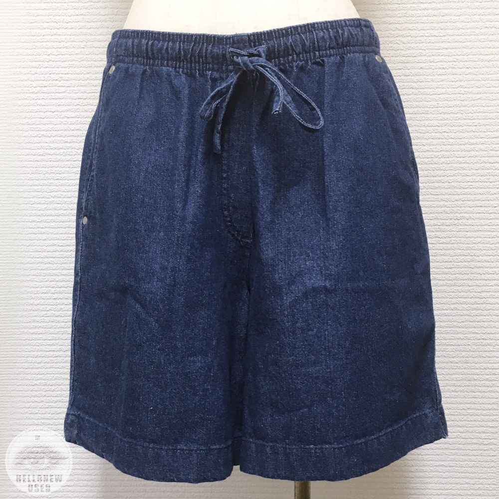 Easy Denim Shorts
