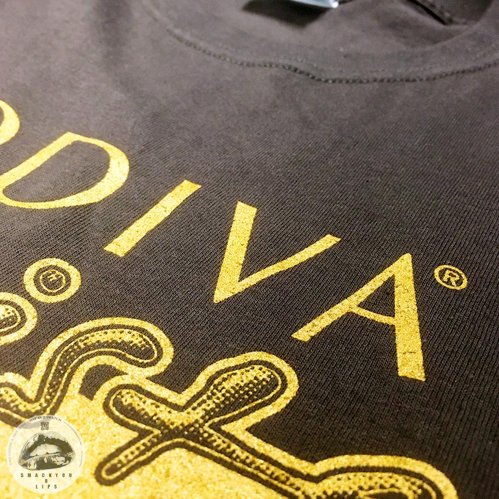 """Chocolate T-shirt """"GODIVA"""""""