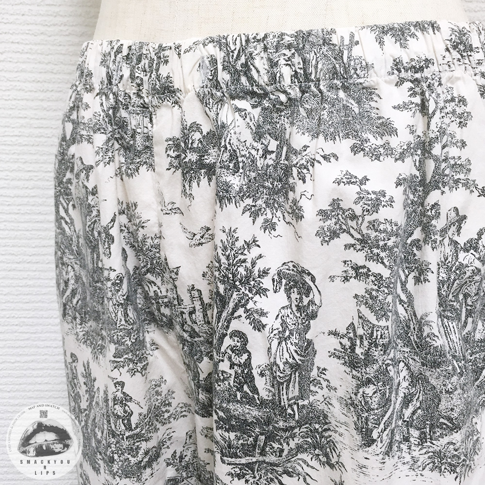 Drawing Printed Pants