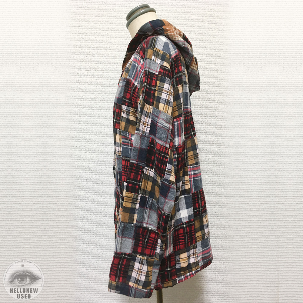Patchwork Check Hoody