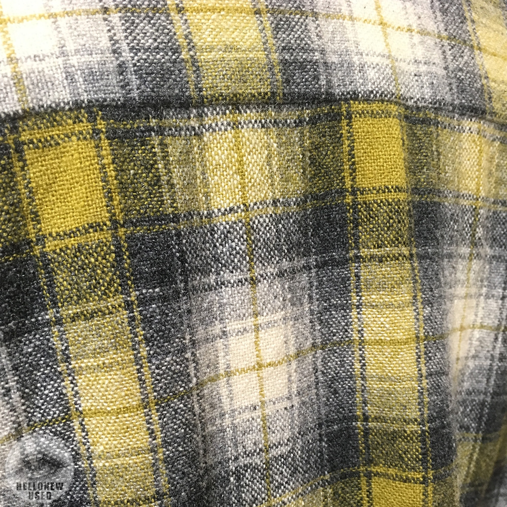 Vintage Wool Check Shirt
