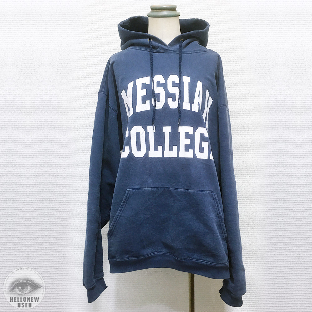 "College Printed Hoody""MESSIAH COLLEGE"""