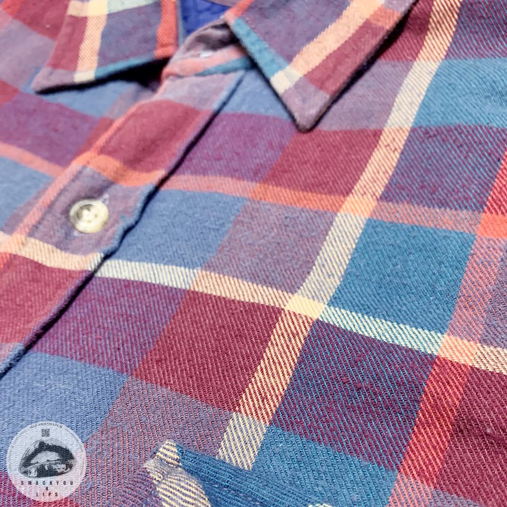 Lined Plaid Shirt