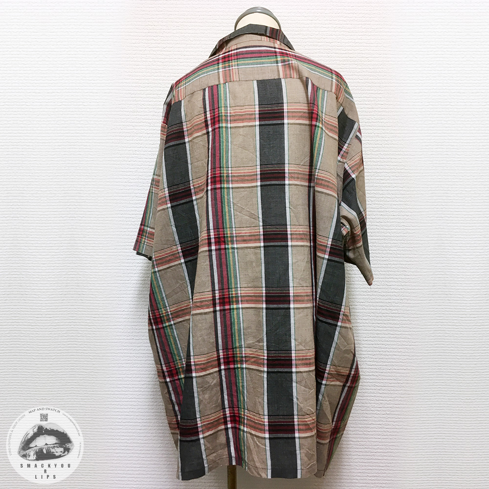 Big Size Plaid Shirt
