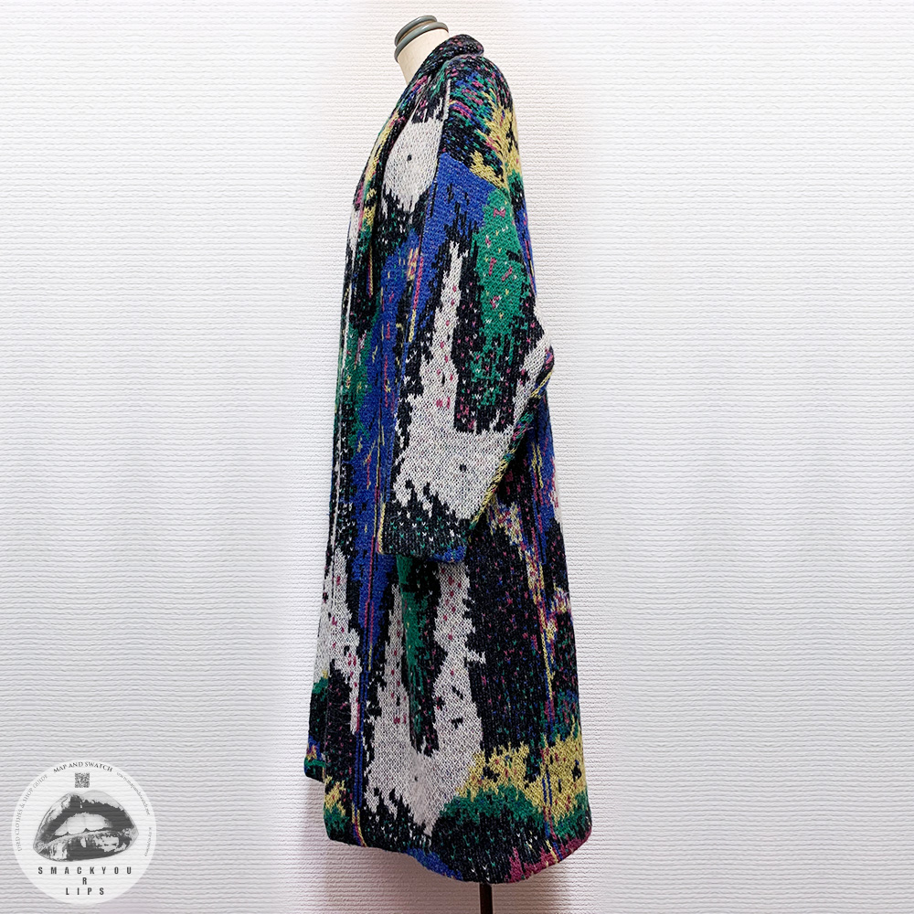 Colorful Knit Robe