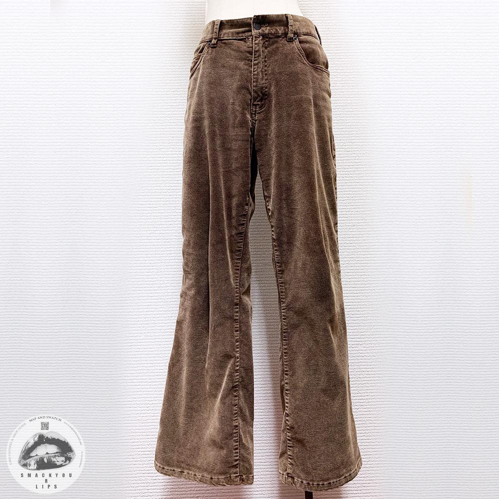 Wide Velour Pants