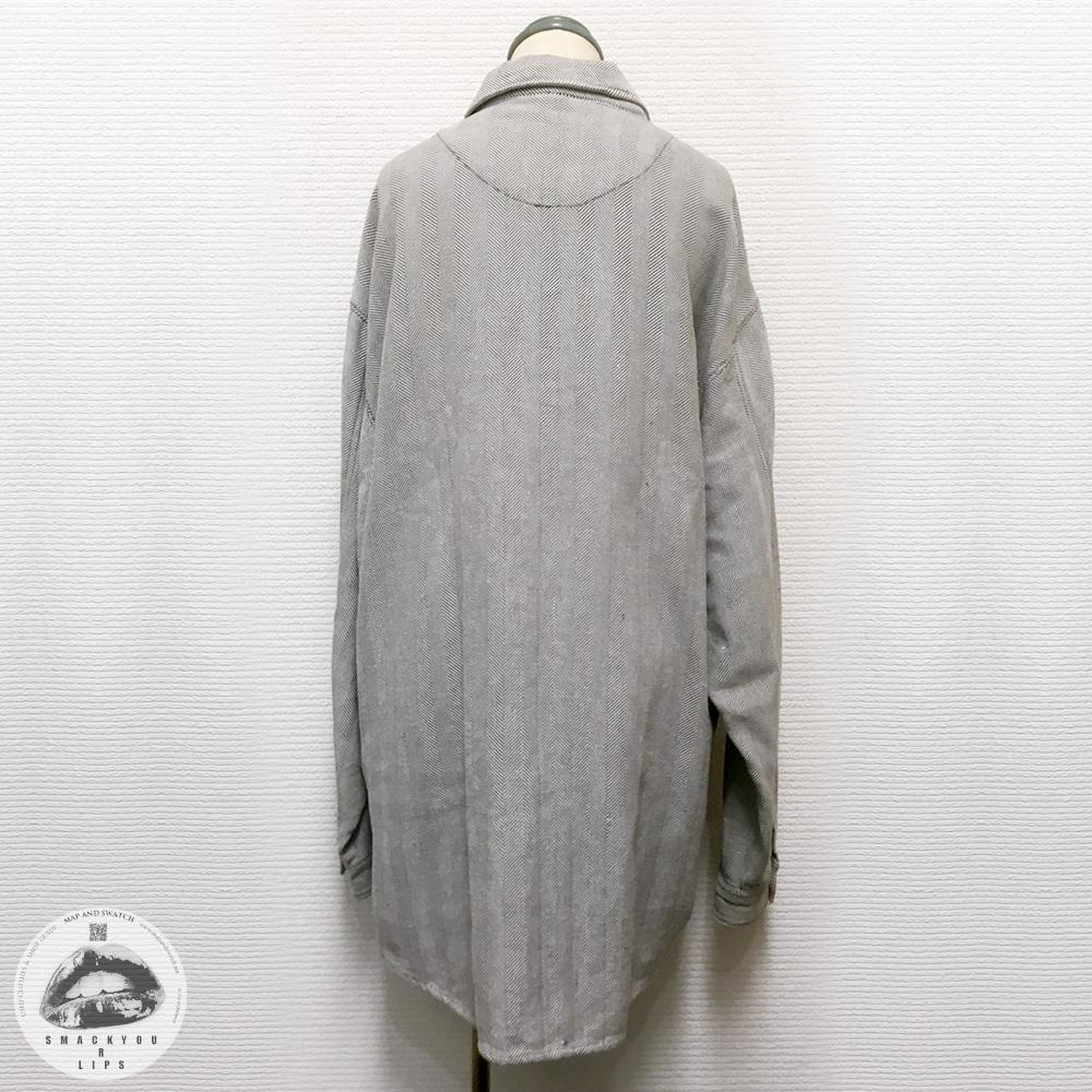 Herringbone Zipup Shirt