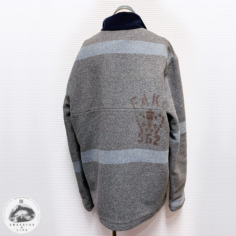 "Wool Pullover ""FAKE LONDON"""