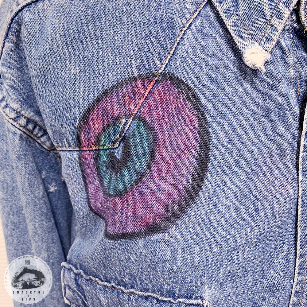 Handpainted Denim Shirt