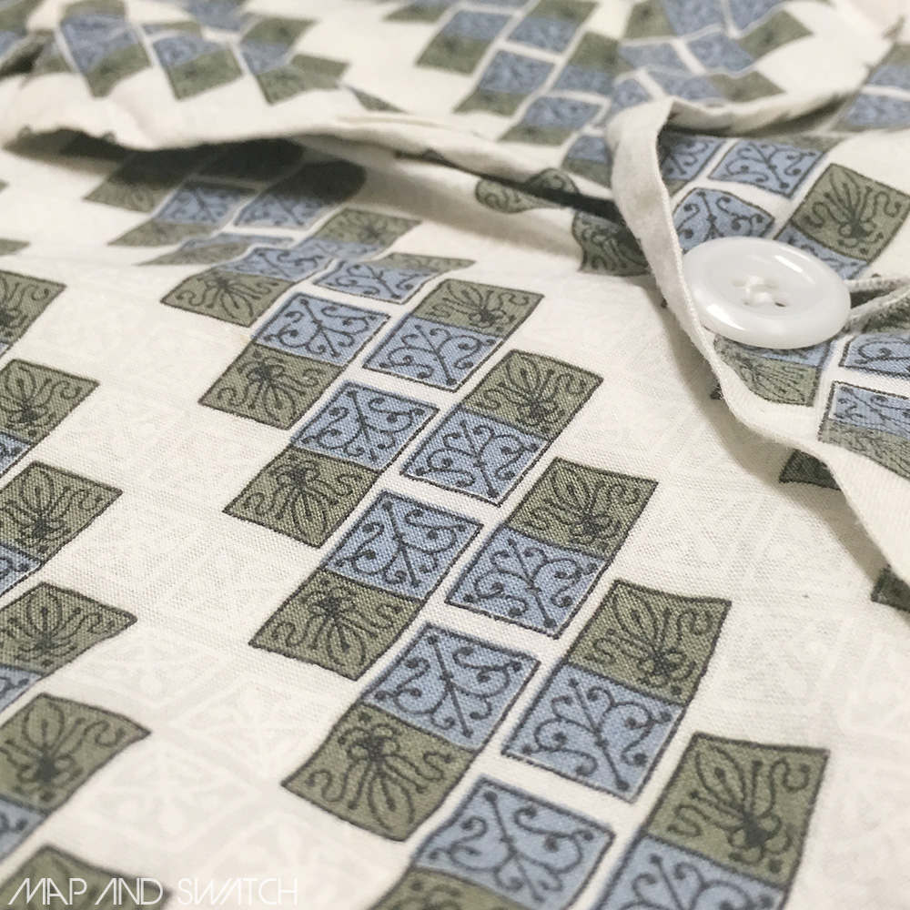 Medieval Pattern Pajama Shirt