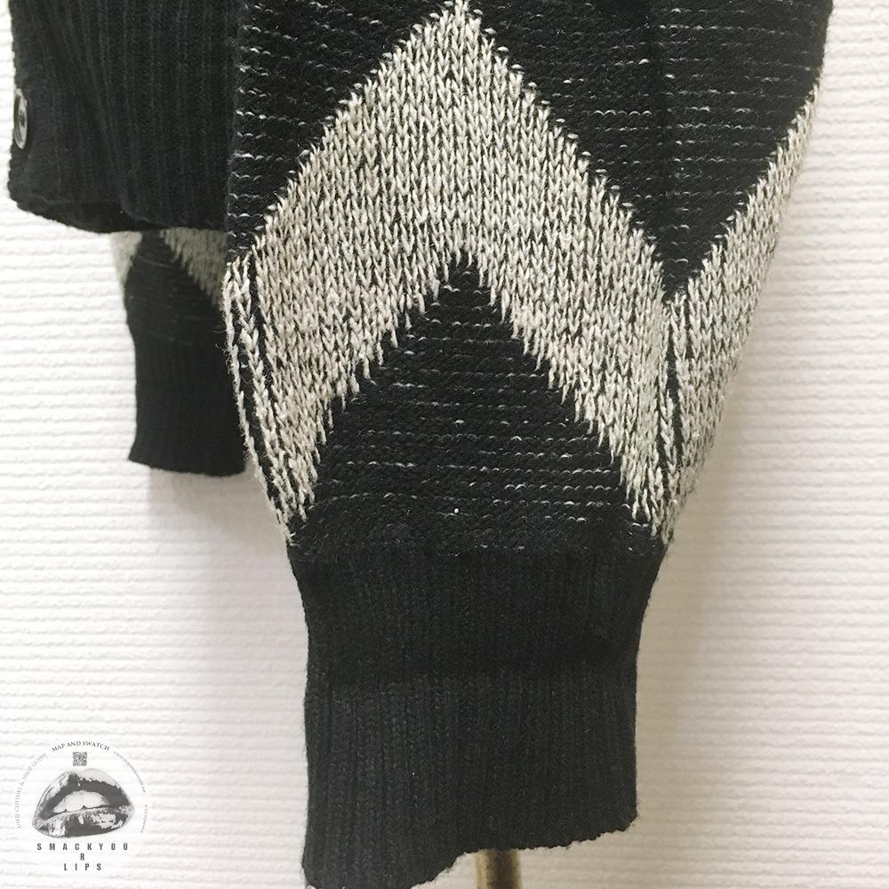 Zig-zag Pattern Cardigan
