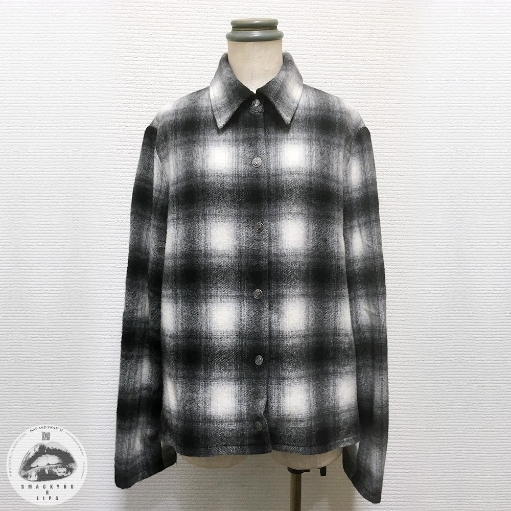 Ombre Plaid Jacket