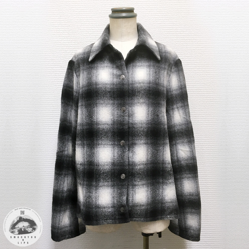 Ombre Plaid Jacket