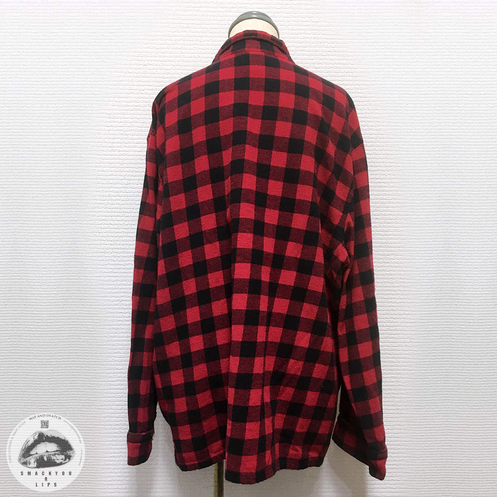 Block Check Pajama Shirt