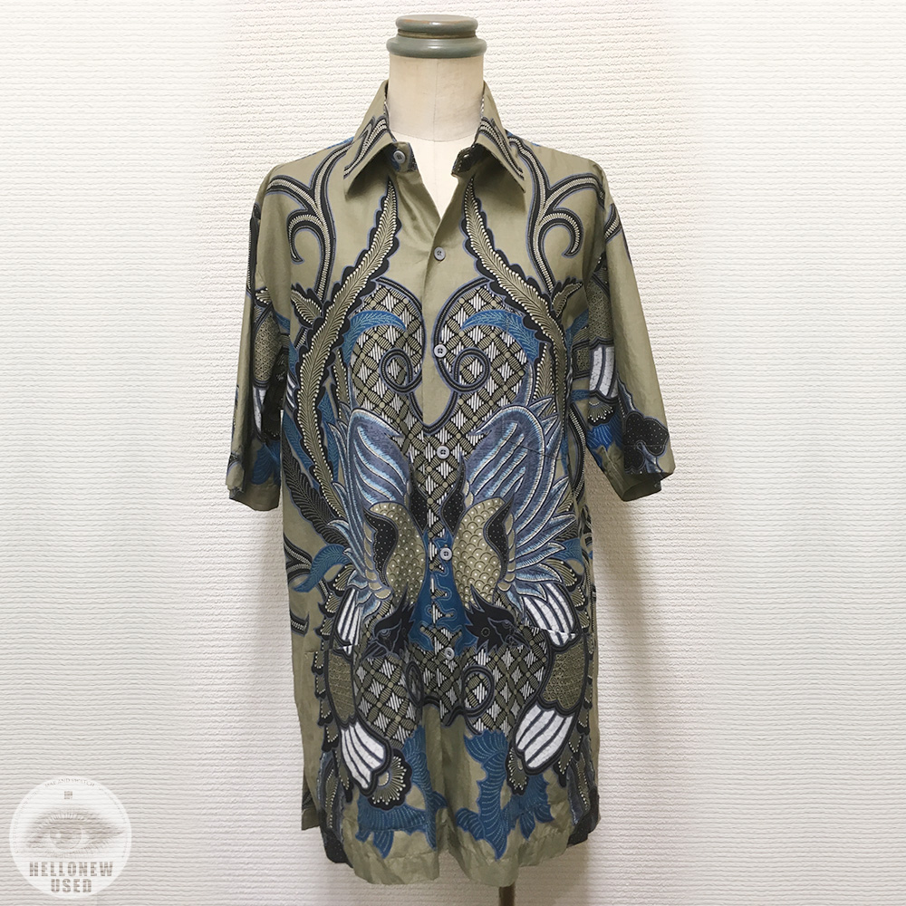 "Short Sleeve Shirts ""Batik Art"""