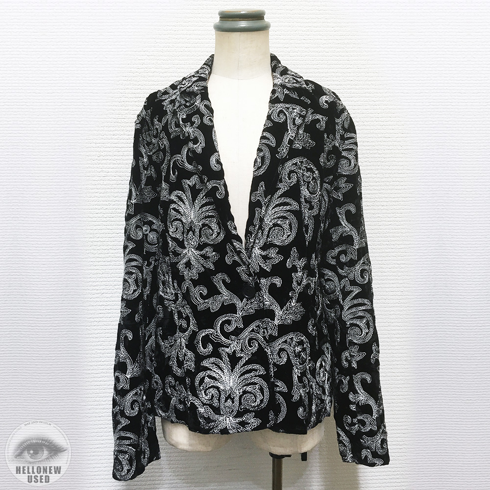Embroidery Pattern Tailored Jacket