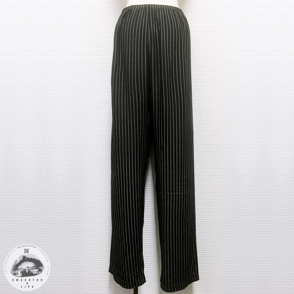 Dotted Stripe Easy Pants