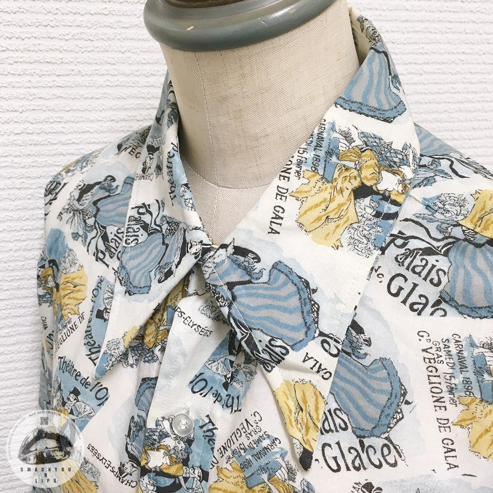 Opera Pattern Shirt
