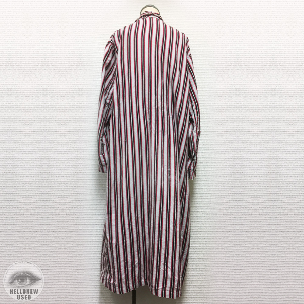 Flannel Stripe Robe